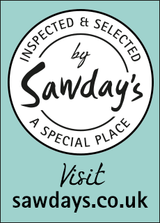 sawdays accreditation badge colour